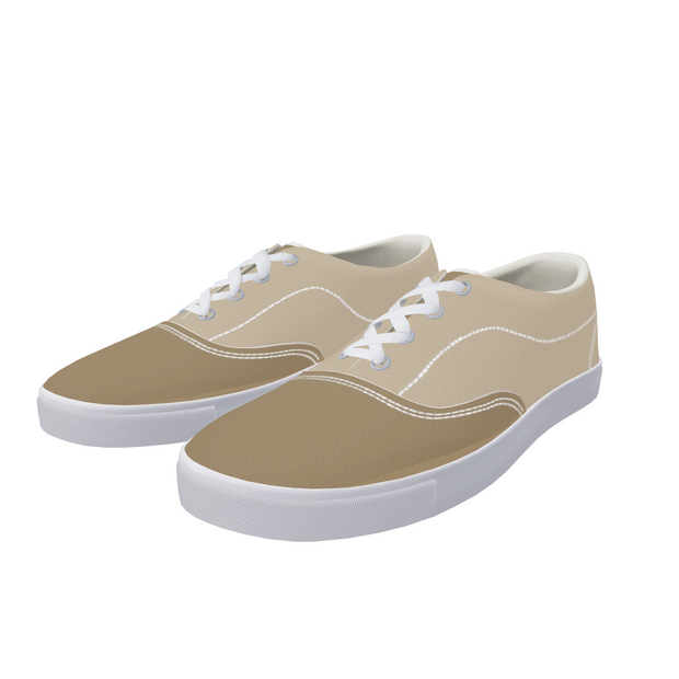 FYC Canvas Two Tone Lace Up Boat Shoes (men's and women's sizing)