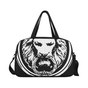 Weekend Travel Bag Black Large Lion