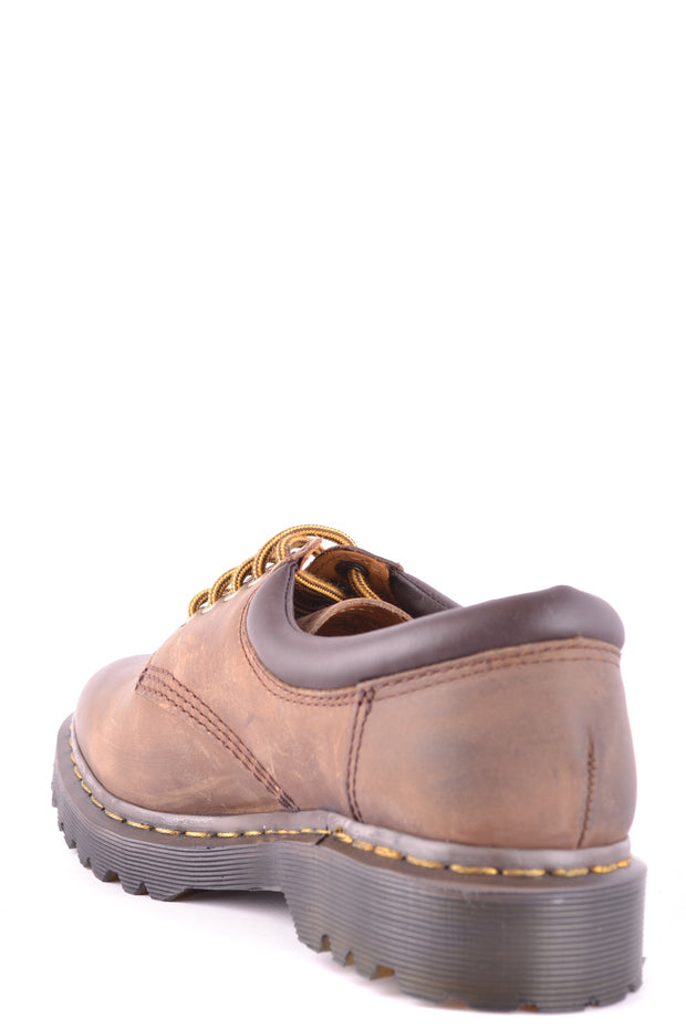 Brown derby Dr. Martens leather