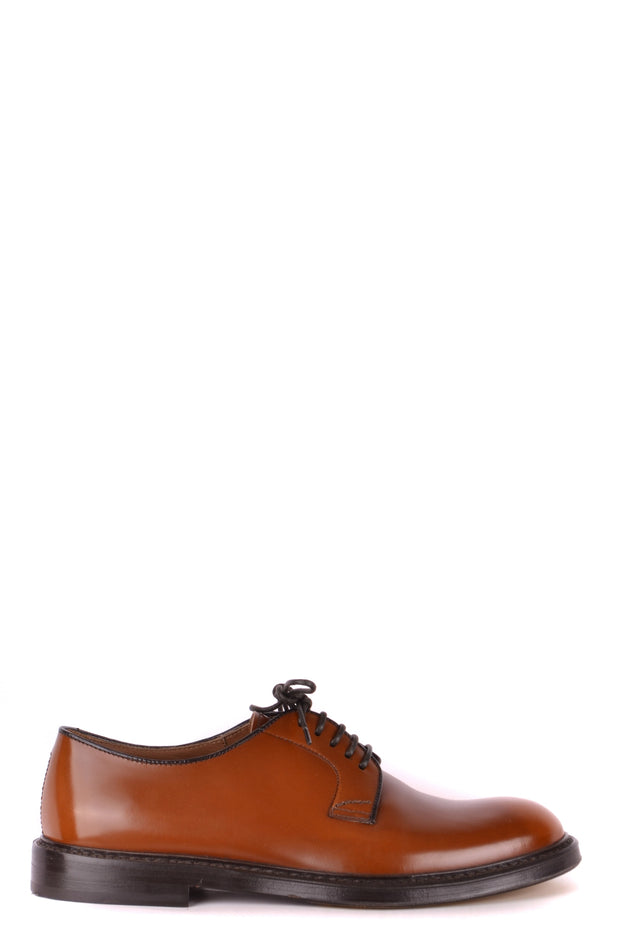 Derby leather shoes Doucal's