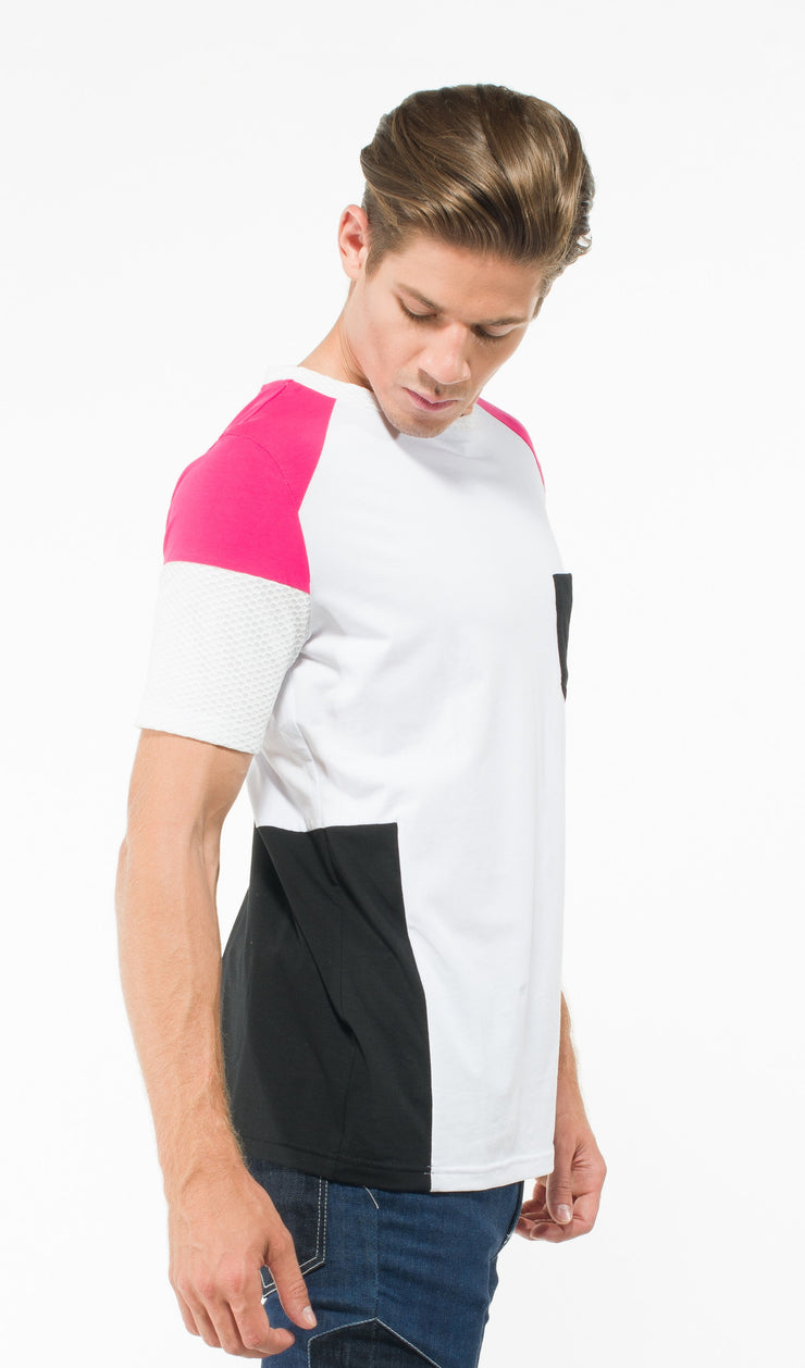 Men's color Blocking T-Shirt