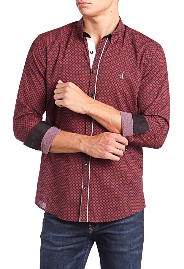 Scarlet Slim Fit Dress Shirt