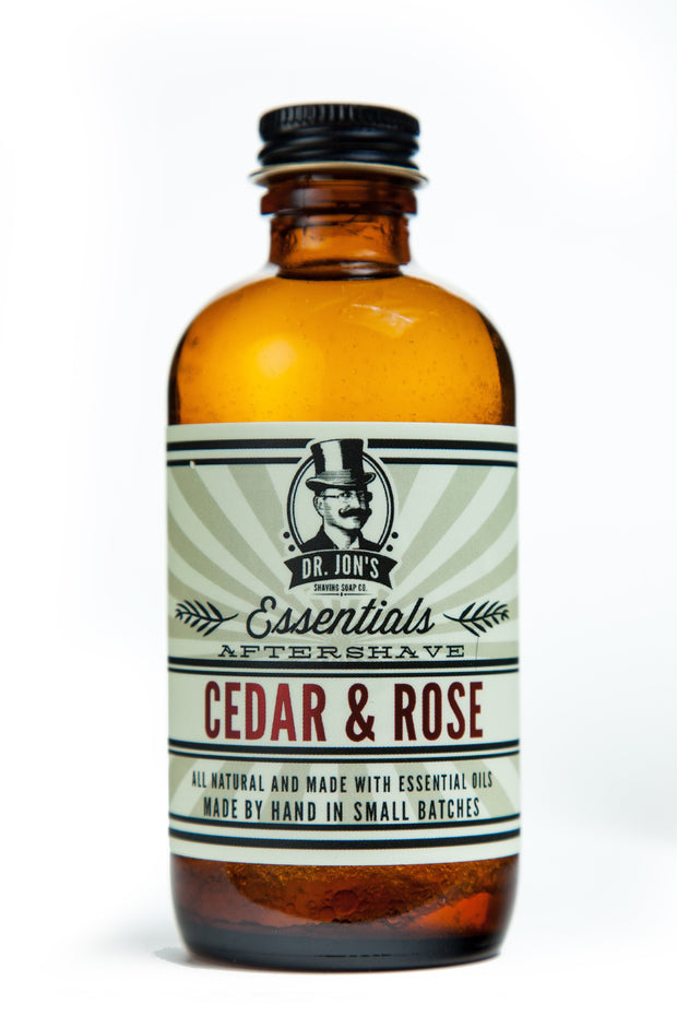 Dr. Jon's Essentials Cedar & Rose Aftershave Tonic