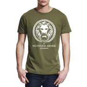 Mens Classic Fit Lion T-shirt