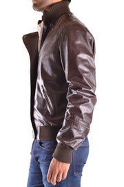 Leather jacket  Trussardi brown