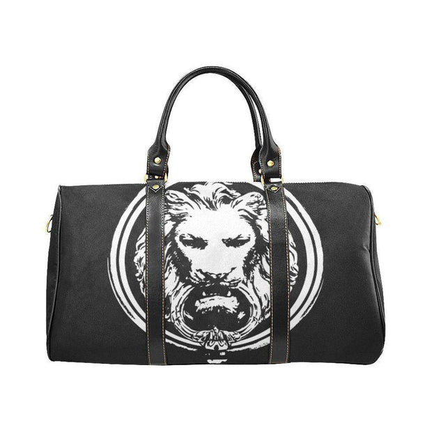 Small Black Handle Waterproof Lion Travel bag