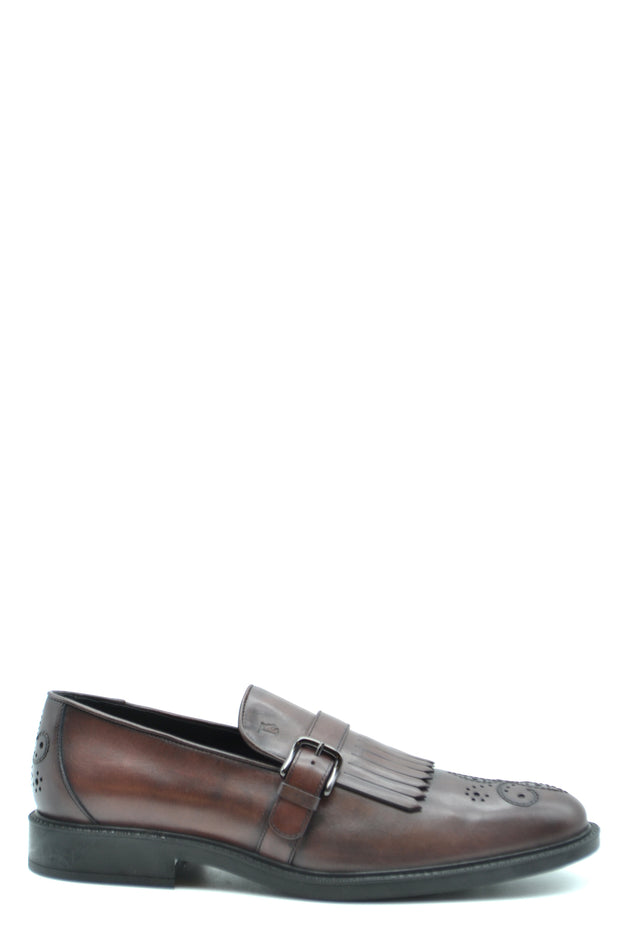 Leather loafers Tod's brown