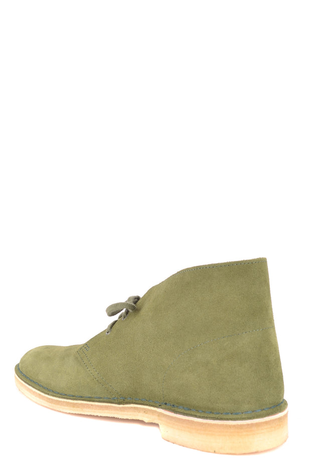 Clarks green boots