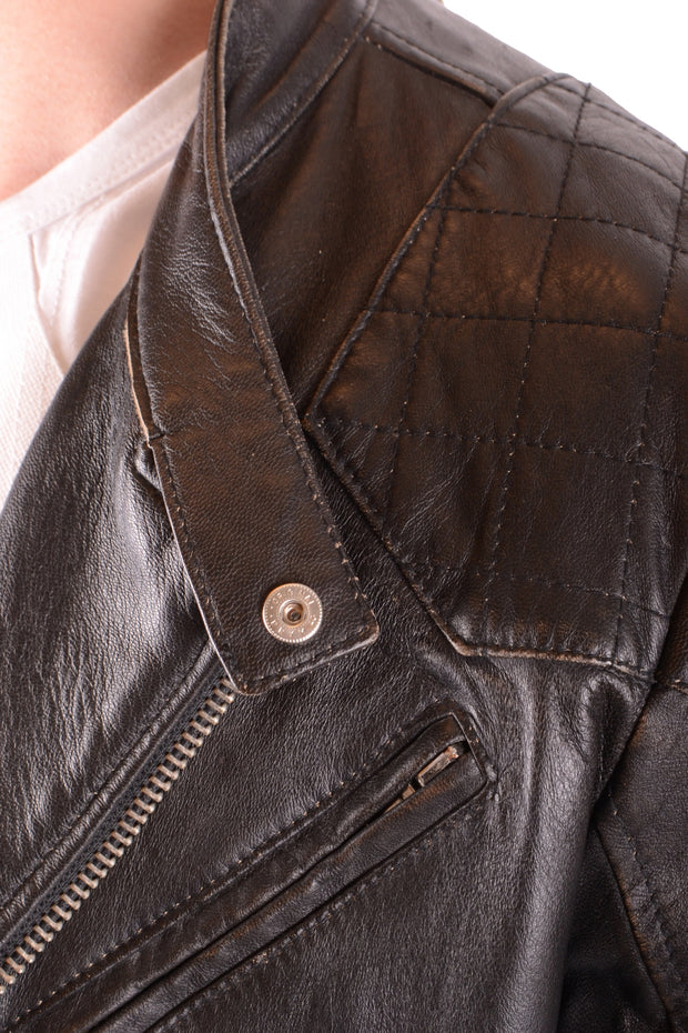 Leather jacket Daniele Alessandrini