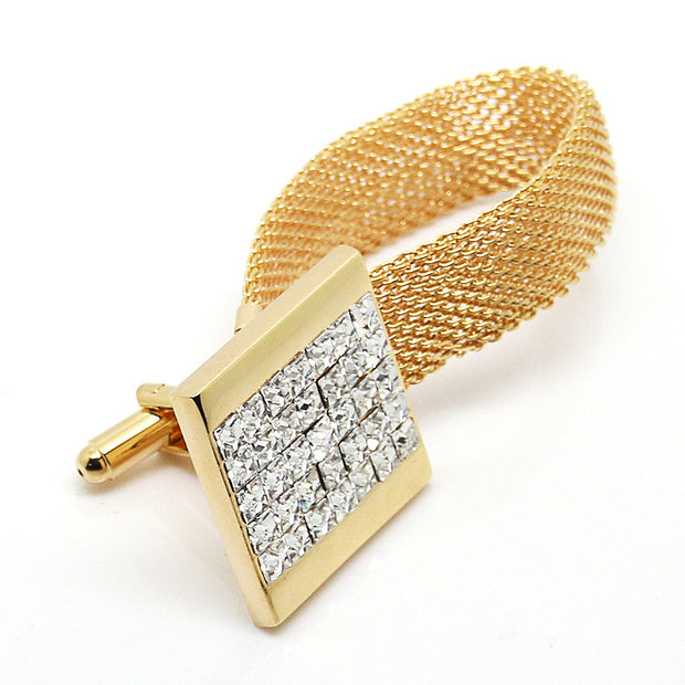 Cufflinks: Gold Chain