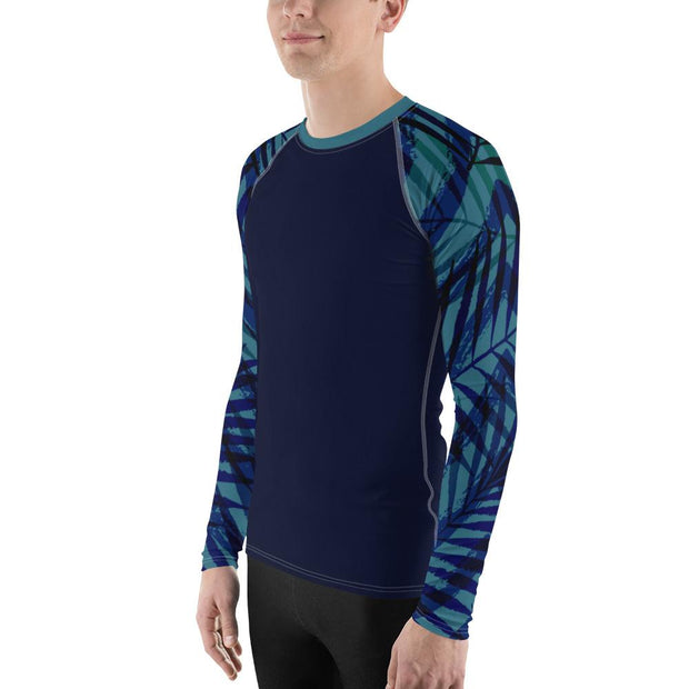 Men's Tropical Sleeve Performance Rash Guard UPF 40+