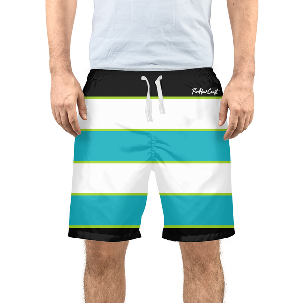 Men's Striped Beach/Swim Shorts