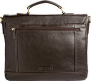 "Hunter 15"" Laptop Compatible Leather Briefcase"