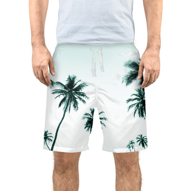 Men's Palm Tree Beach/Swim Shorts