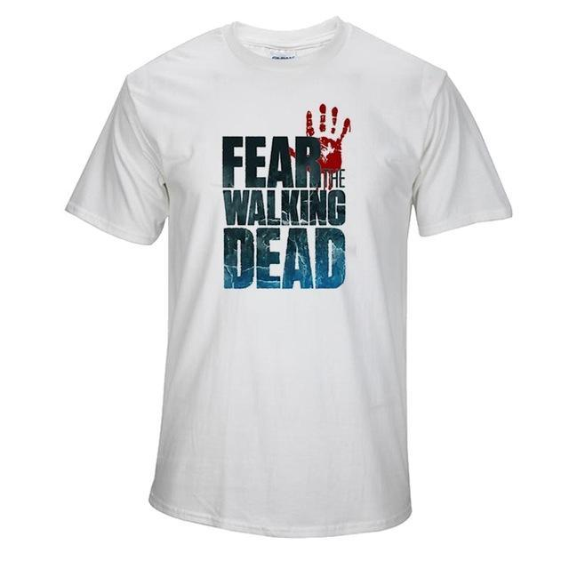 Top Quality the Walking Dead Print T shirt