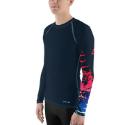 Men's Victory Sleeve Performance Rash Guard UPF 40+