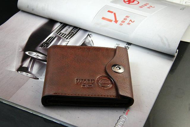 Casual New Design Genuine Leather Wallet