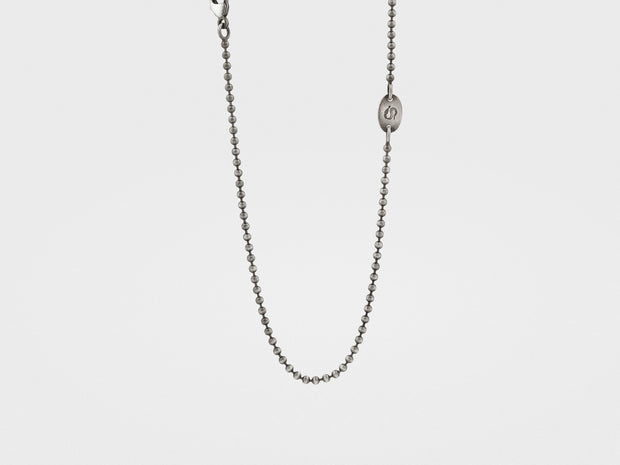 Branded Silver Ball Chain (1.8mm)