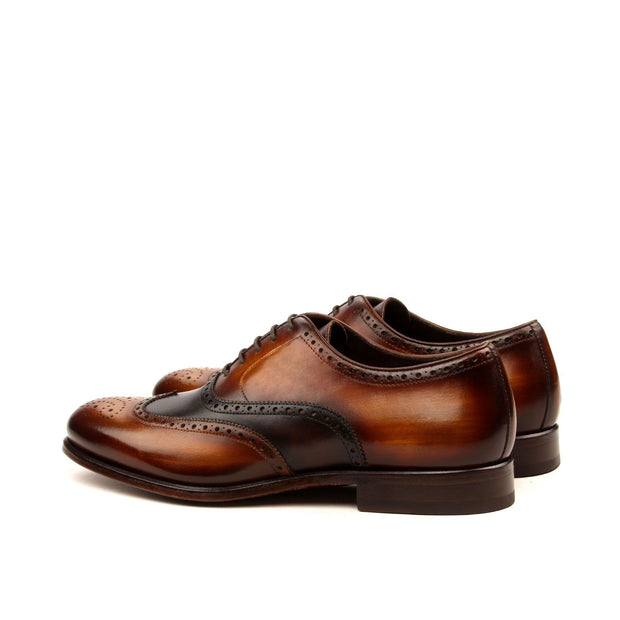 NY Full Brogue Patina