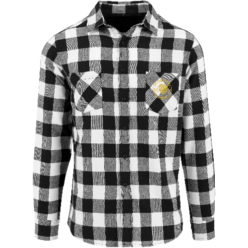 The Lion Head Checked flannel shirt
