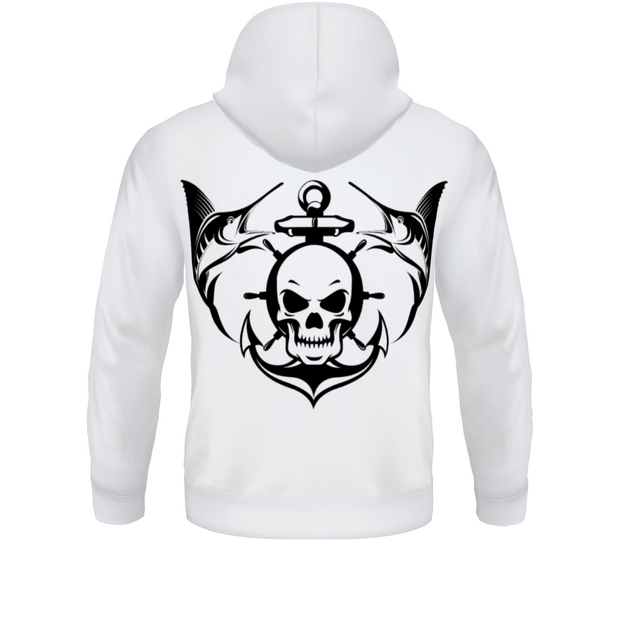 Men's FYC Blue Coast Skull & Anchor Fishing Sweatshirt