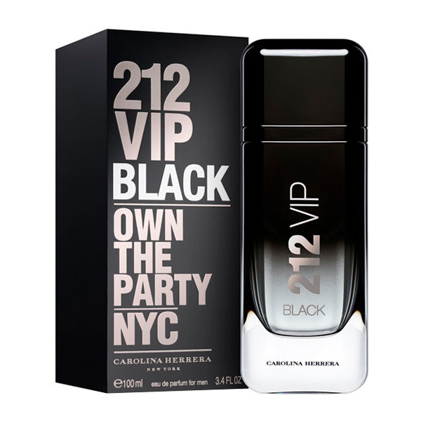 Men's Perfume 212 Vip  Black Carolina Herrera EDP