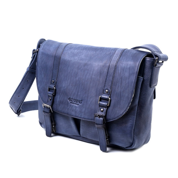 Moonlight Leather Messenger