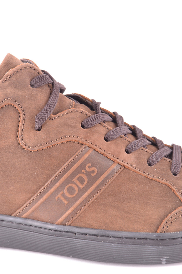 Tod's leather sneaker brown