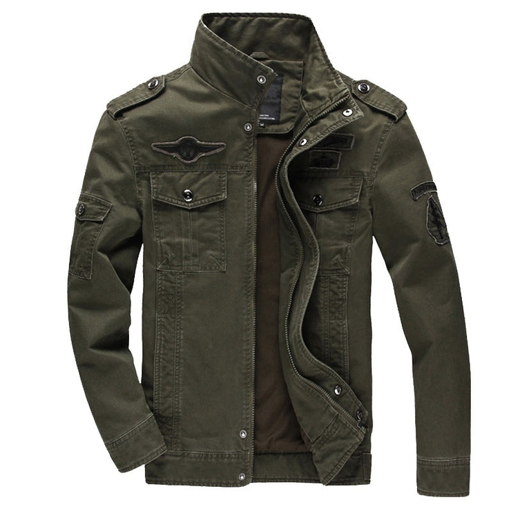 Leisure Military Style Jacket
