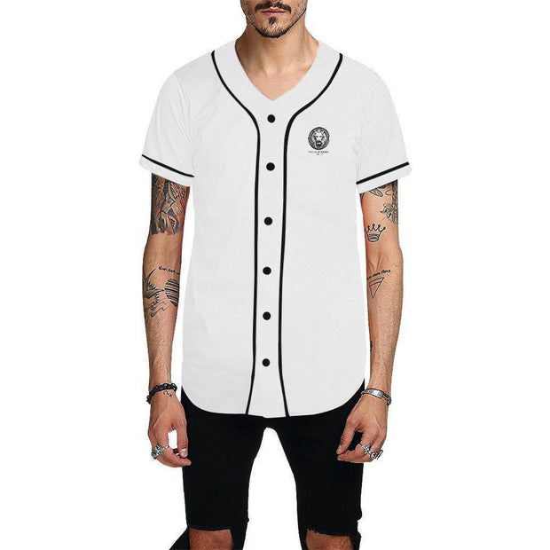 NFA White Baseball Mens Shirt