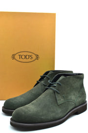Tod's dark green boots