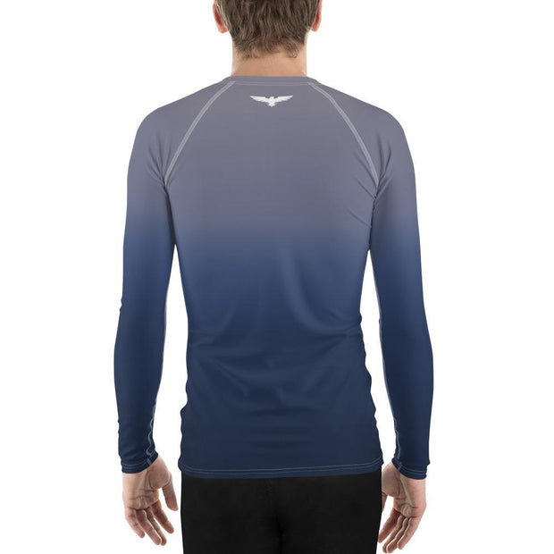 Men's Faded Performance Rash Guard UPF 40+