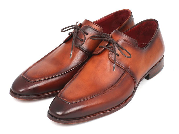 Paul Parkman Leather Apron Derby Shoes For Men