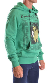 Sweatshirt  Galliano print