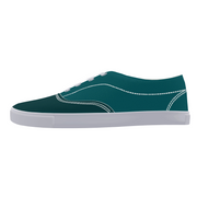 FYC Canvas Lace Up Two Tone Boat Shoe (men's and women's sizing)
