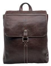Hidesign hector leather backpack in brown