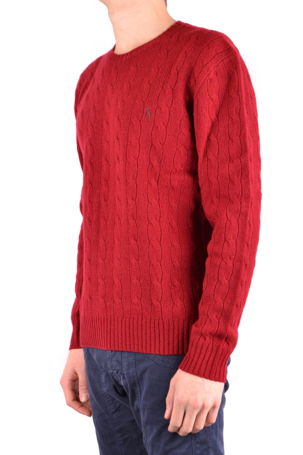 Knitted sweater Ralph Lauren red