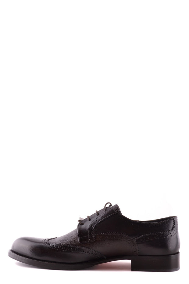 Trussardi Leather Derby Shoes