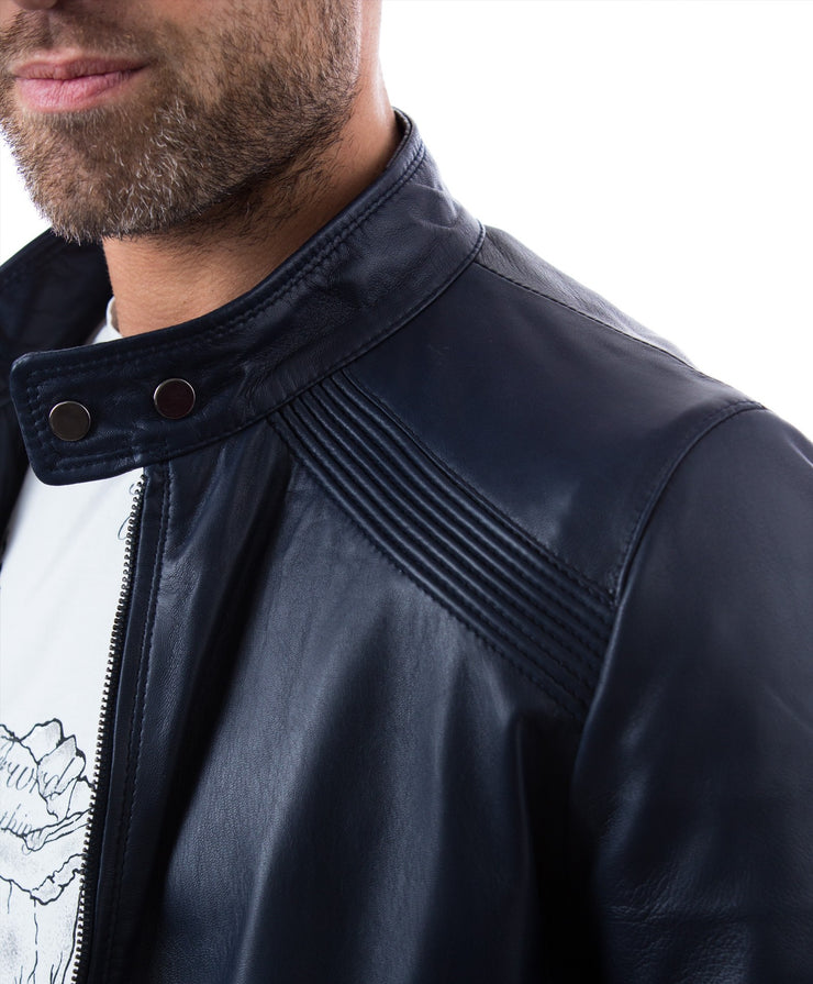 Men's Italian Leather Jacket