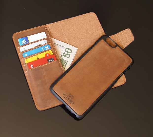Iphone 7/7plus Wallet Case  | MAGNETIC