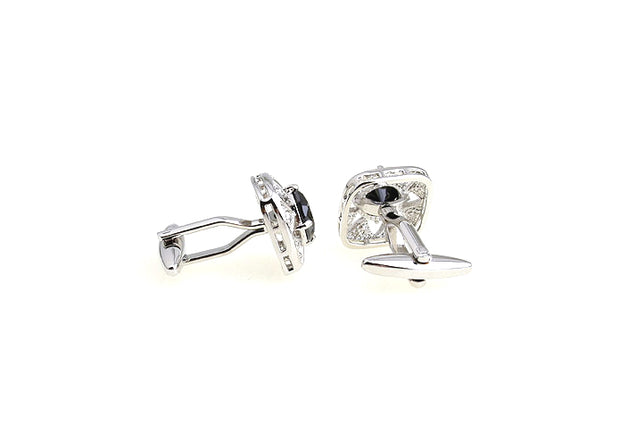 Cufflinks: Black Gem