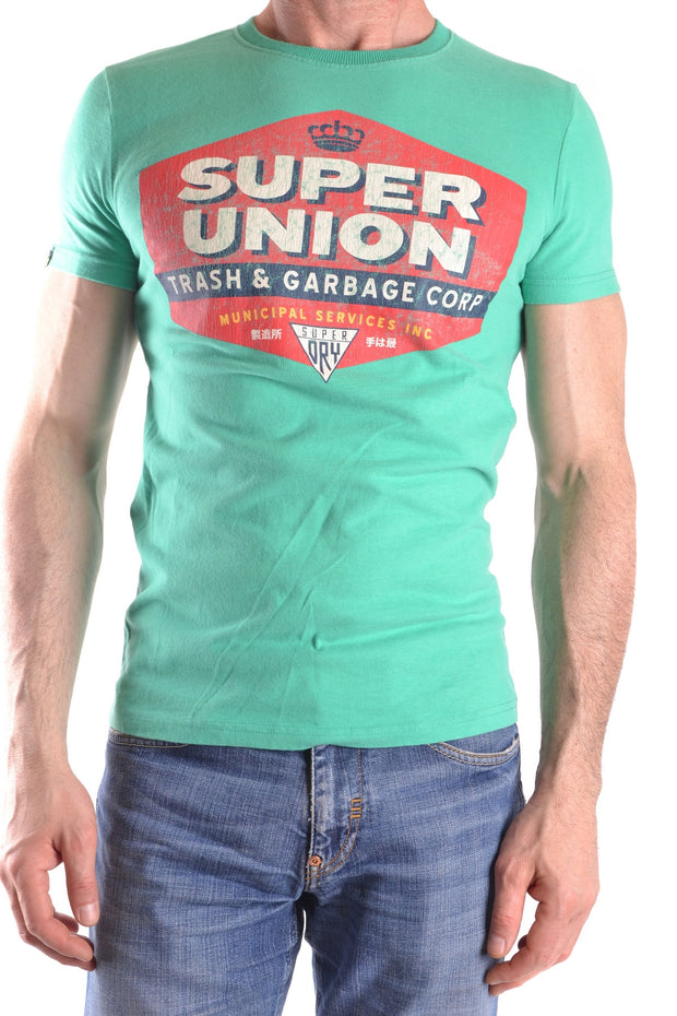 T-Shirt Superdry Super Union green