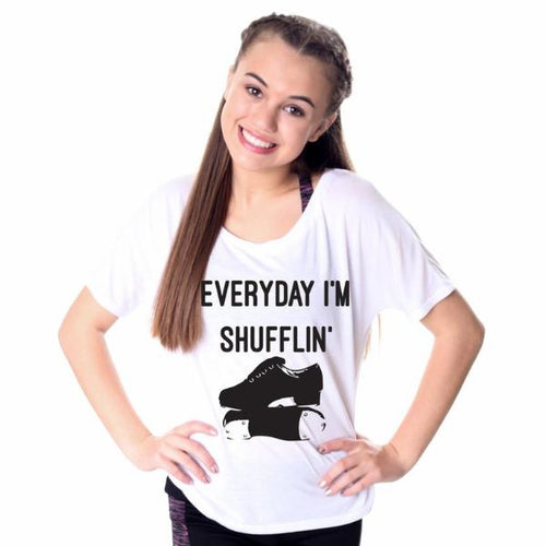 Everyday I'm Shufflin' TAP Short Sleeved T-Shirt