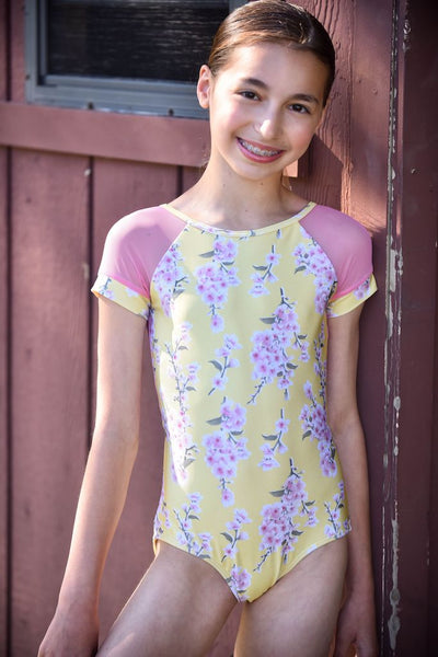 Short Sleeve Amaya Leotard (Final Sale)