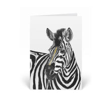Load image into Gallery viewer, Zebra Greeting Card