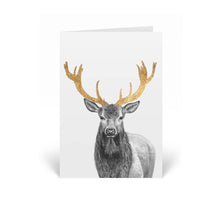 Load image into Gallery viewer, Stag Greeting Card
