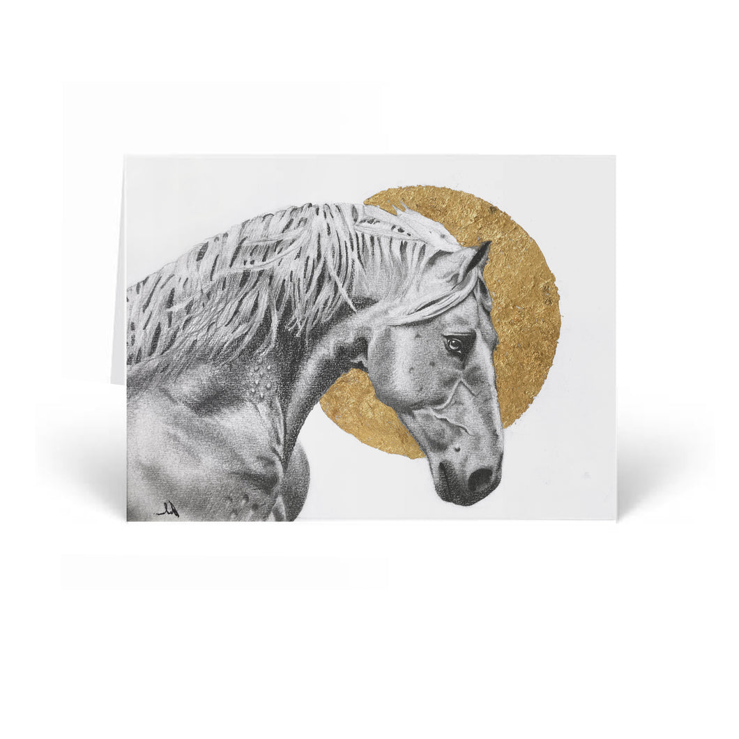 Midnight Mare Greeting Card