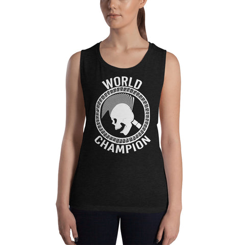 CHAMPION Womens Muscle Tank Top