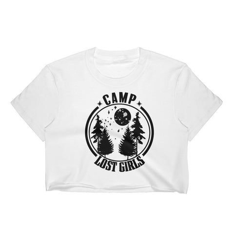 CAMP LOST GIRLS Womens Crop Tee