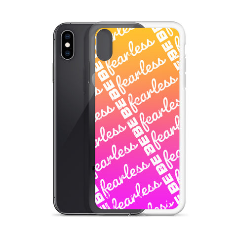 BE FEARLESS Sunset iPhone Case 7 - XR